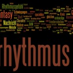 Wordle Glasrhythmus
