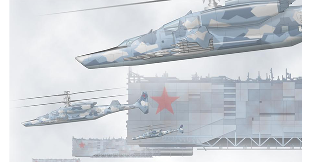 Samsonov Vampire Combat Helicopter – New Vehicles for The Red Star