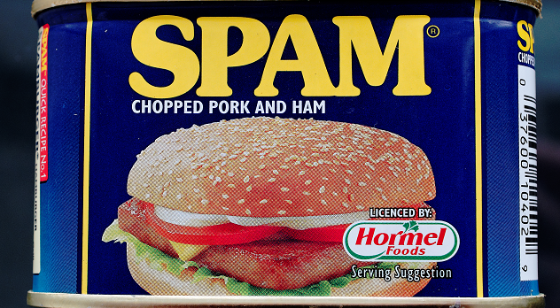 Spam! - finding a new use as a name generator
