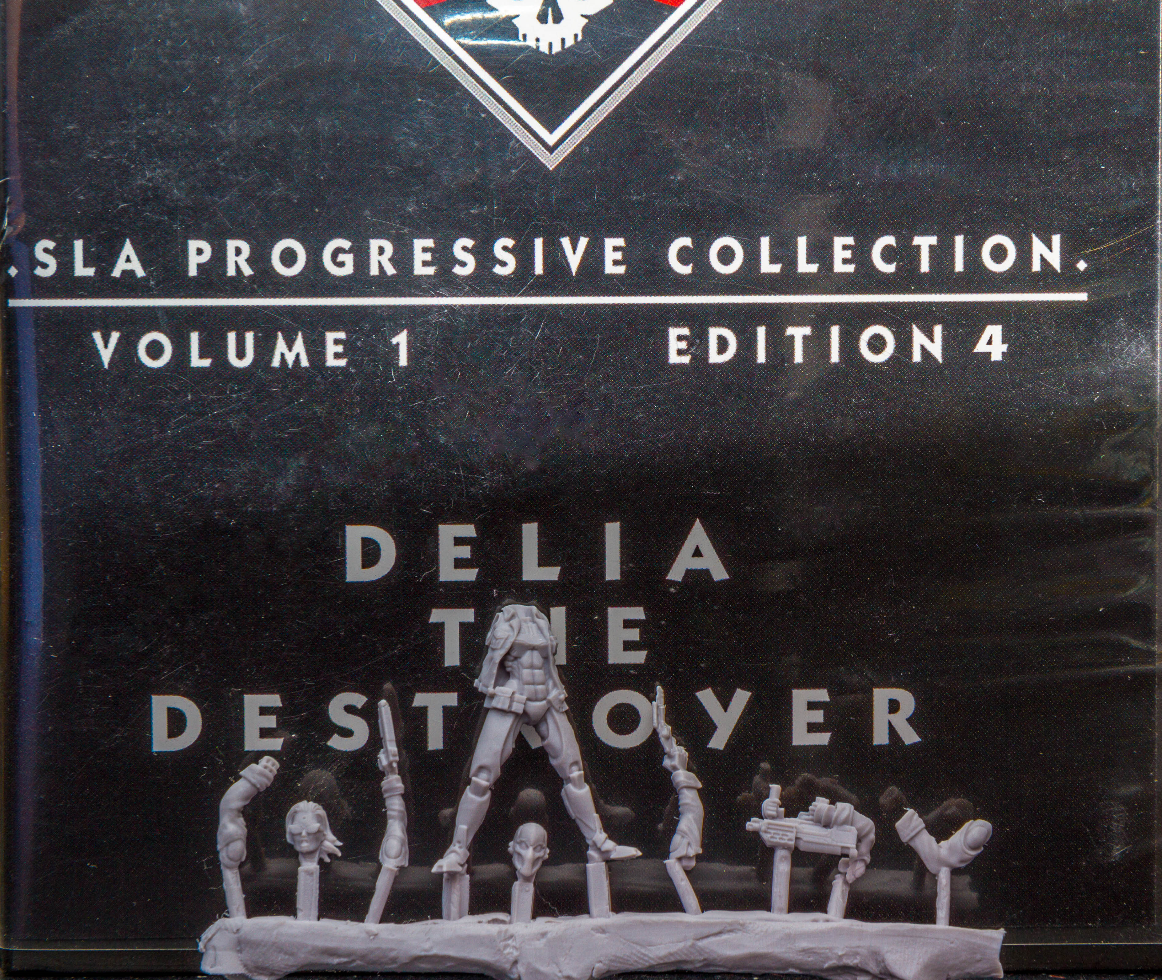 Delia the Destroyer Front