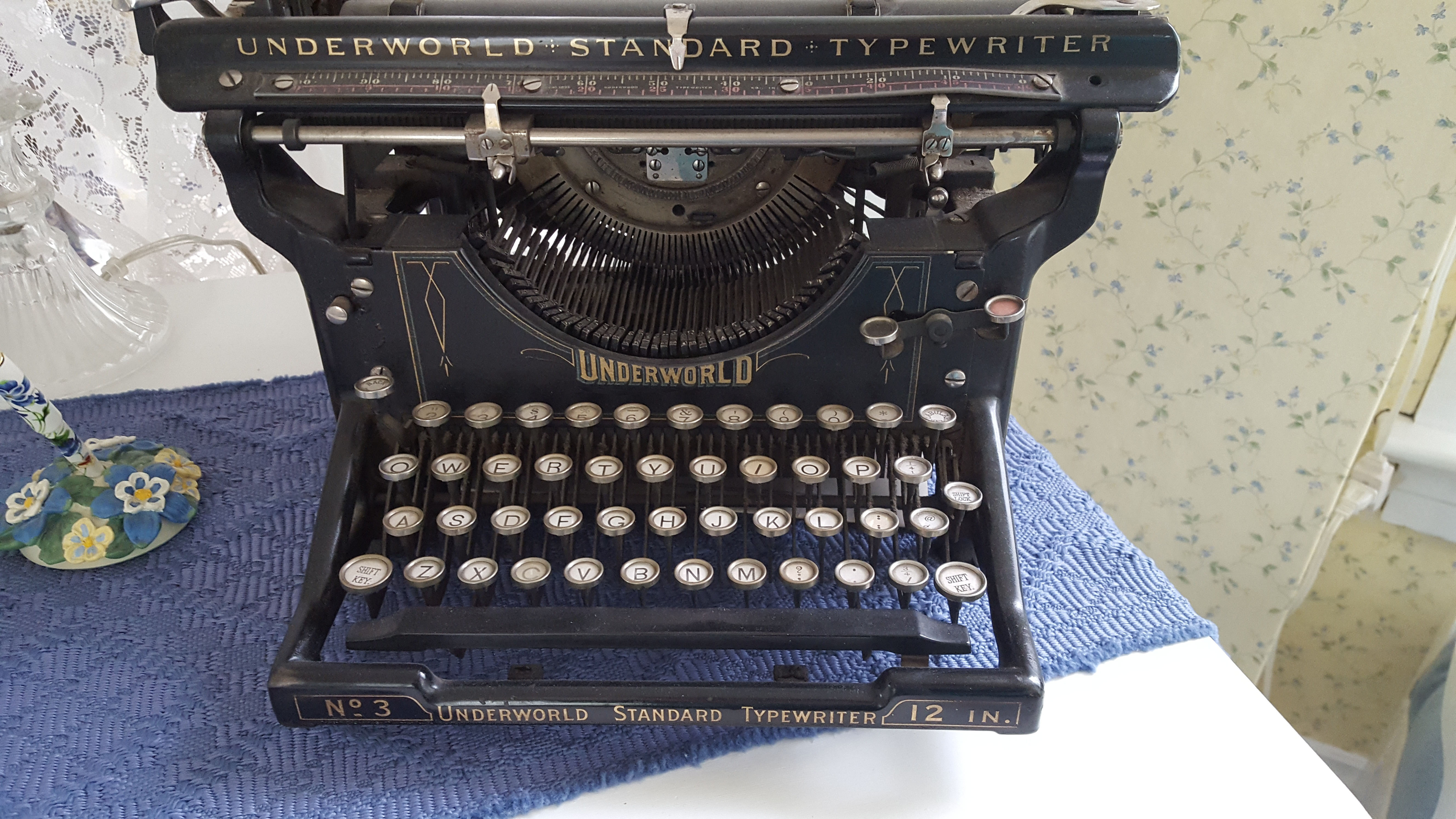 Underworld Standard Typewriter – an enchantment for SLA Industries and Unknown Armies