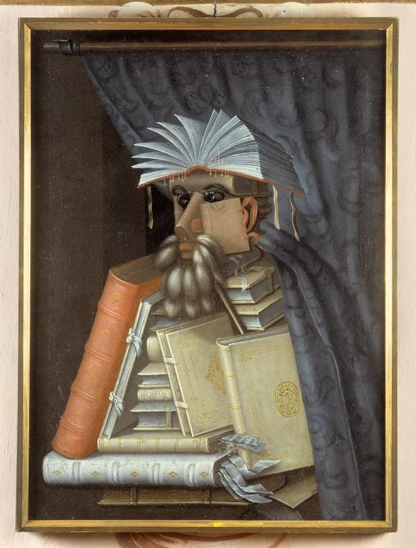 The Librarian by Giuseppe Arcimboldo (1527–1593)