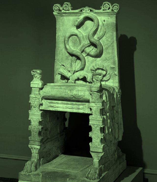 Acid Throne – a magic chair for D&D