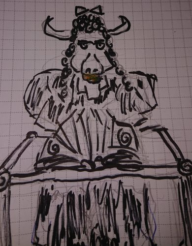 "Minotaur - a ""monster"" for Troika!"